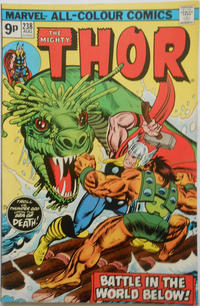 Cover Thumbnail for Thor (Marvel, 1966 series) #238 [British]