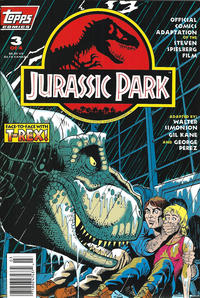 Cover Thumbnail for Jurassic Park (Topps, 1993 series) #3 [Newsstand]