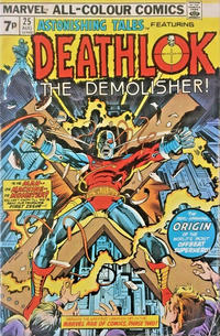 Cover Thumbnail for Astonishing Tales (Marvel, 1970 series) #25 [British]