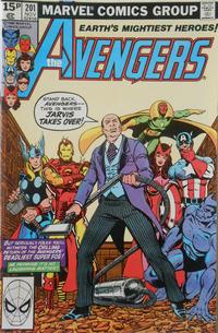 Cover Thumbnail for The Avengers (Marvel, 1963 series) #201 [British]