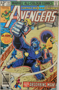 Cover Thumbnail for The Avengers (Marvel, 1963 series) #184 [British]