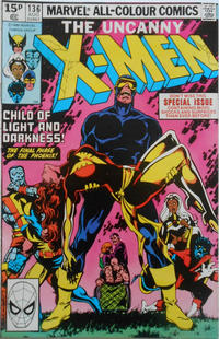 Cover Thumbnail for The X-Men (Marvel, 1963 series) #136 [British]