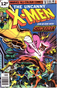 Cover Thumbnail for The X-Men (Marvel, 1963 series) #118 [British]
