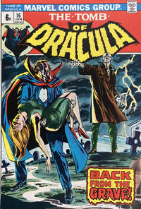 Cover Thumbnail for Tomb of Dracula (Marvel, 1972 series) #16 [British]