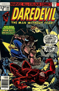 Cover Thumbnail for Daredevil (Marvel, 1964 series) #144 [British]
