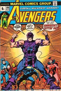 Cover Thumbnail for The Avengers (Marvel, 1963 series) #109 [British]