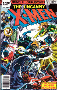 Cover Thumbnail for The X-Men (Marvel, 1963 series) #119 [British]