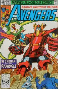 Cover Thumbnail for The Avengers (Marvel, 1963 series) #198 [British]