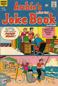 Cover Thumbnail for Archie's Joke Book Magazine (Archie, 1953 series) #175