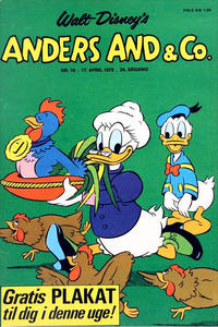 Cover Thumbnail for Anders And & Co. (Egmont, 1949 series) #16/1972