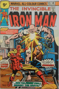 Cover for Iron Man (Marvel, 1968 series) #85 [25¢ Cover Price]
