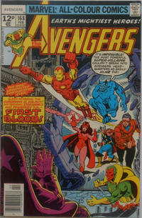Cover Thumbnail for The Avengers (Marvel, 1963 series) #168 [British]