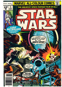 Cover Thumbnail for Star Wars (Marvel, 1977 series) #5 [British]