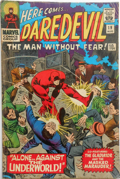 Cover for Daredevil (Marvel, 1964 series) #19 [Regular Edition]