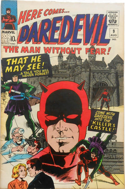 Cover for Daredevil (Marvel, 1964 series) #9 [Regular Edition]