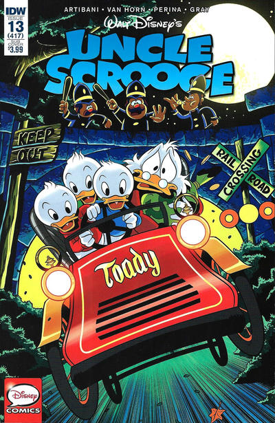 Cover for Uncle Scrooge (IDW, 2015 series) #13 [Subscription Cover]