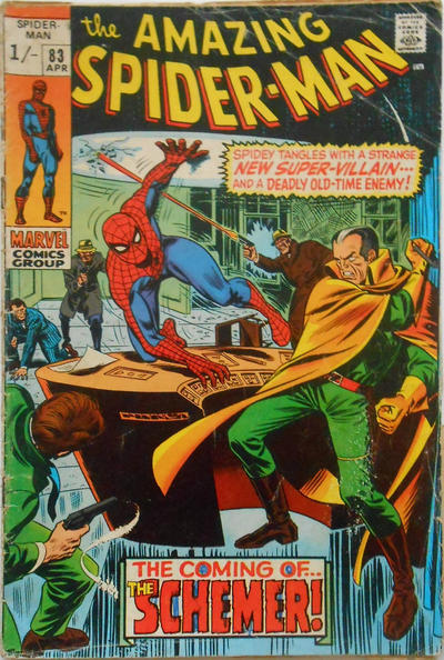 Cover for The Amazing Spider-Man (Marvel, 1963 series) #83 [Regular Edition]