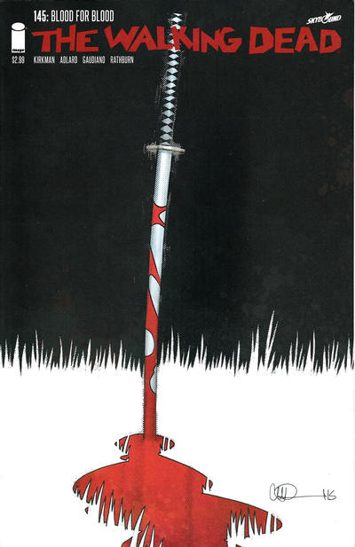 Cover for The Walking Dead (Image, 2003 series) #145