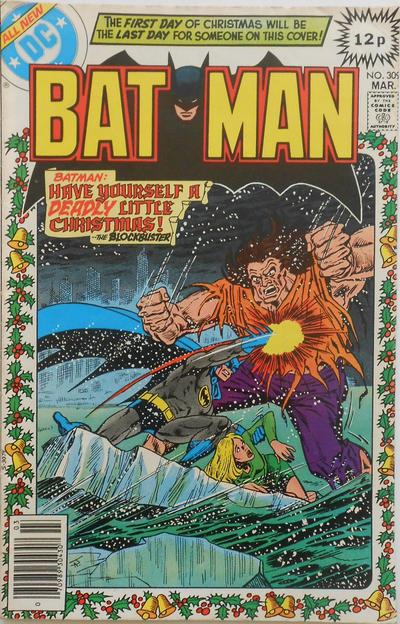 Cover for Batman (DC, 1940 series) #309