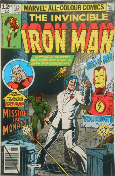 Cover for Iron Man (Marvel, 1968 series) #125 [Newsstand Edition]