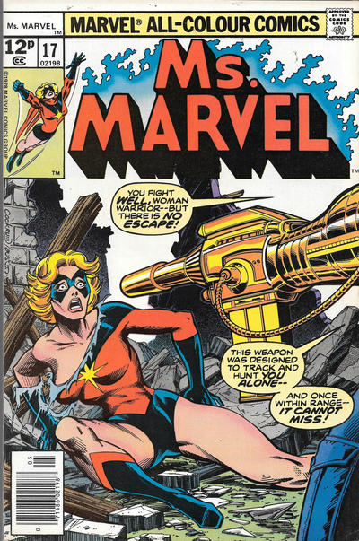 Cover for Ms. Marvel (Marvel, 1977 series) #17