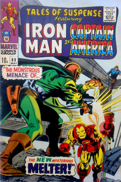 Cover for Tales of Suspense (Marvel, 1959 series) #89 [Regular Edition]
