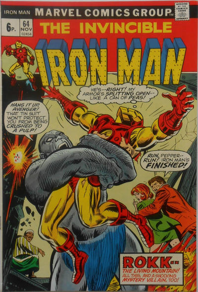 Cover for Iron Man (Marvel, 1968 series) #64 [Regular Edition]