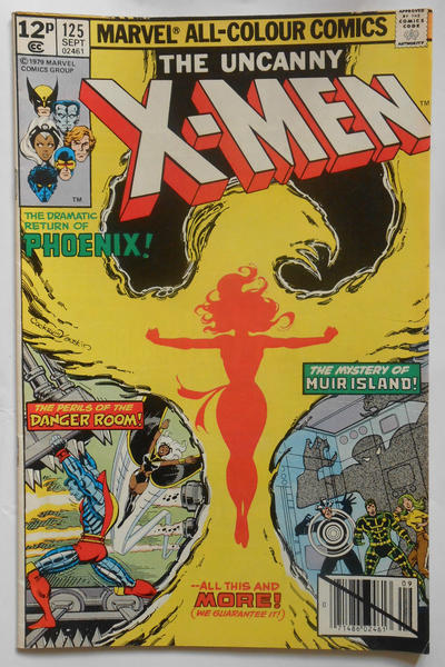 Cover for The X-Men (Marvel, 1963 series) #125 [Direct]