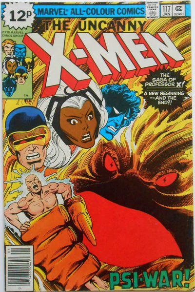 Cover for The X-Men (Marvel, 1963 series) #117 [Regular Edition]