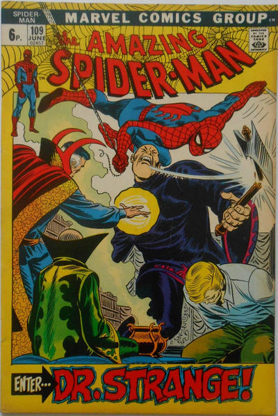 Cover for The Amazing Spider-Man (Marvel, 1963 series) #109 [Regular Edition]