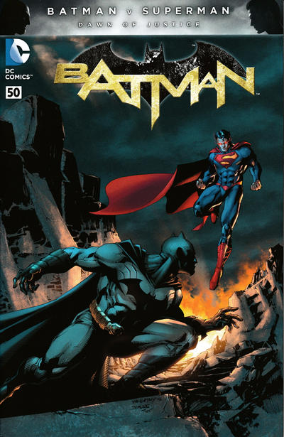 Cover for Batman (DC, 2011 series) #50 [ComicXposure Black and White Connecting Cover]