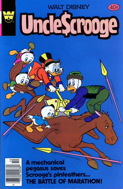 Cover for Uncle Scrooge (Western, 1963 series) #169 [Gold Key Variant]