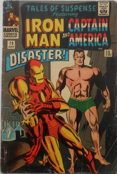 Cover for Tales of Suspense (Marvel, 1959 series) #79 [Regular Edition]