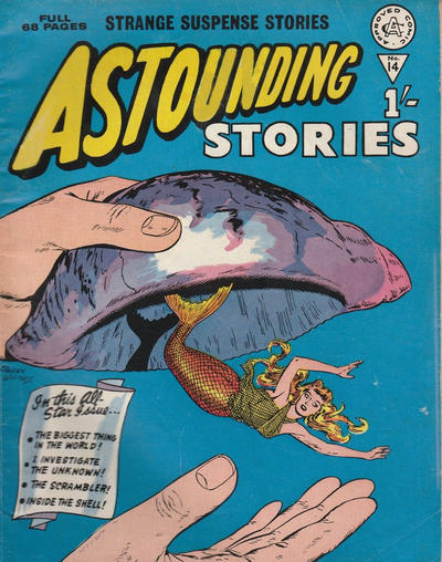 Cover for Astounding Stories (Alan Class, 1966 series) #14