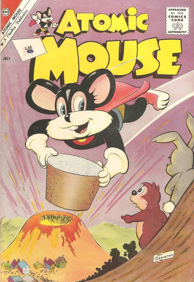 Cover for Atomic Mouse (Charlton, 1953 series) #43
