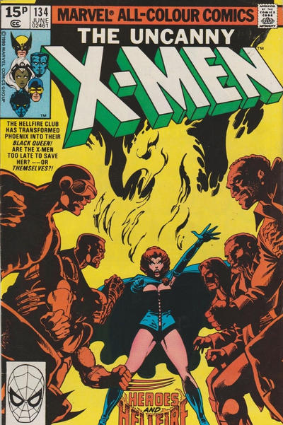 Cover for The X-Men (Marvel, 1963 series) #134 [Direct Edition]