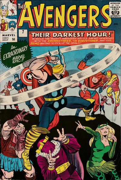 Cover for The Avengers (Marvel, 1963 series) #7 [Regular Edition]