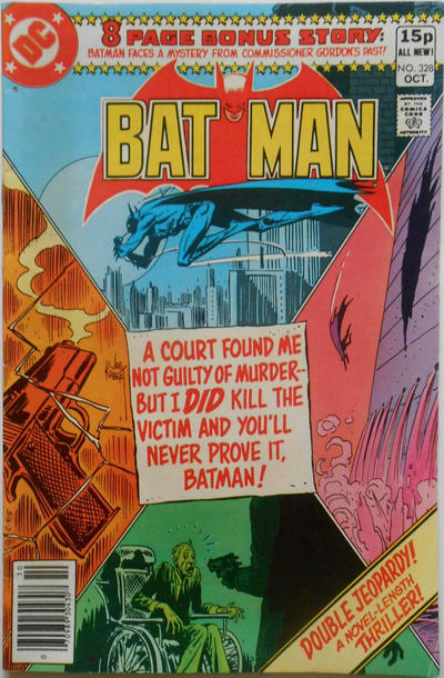 Cover for Batman (DC, 1940 series) #328 [Direct Edition]