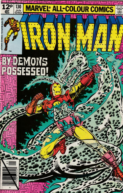 Cover for Iron Man (Marvel, 1968 series) #130 [Direct Edition]