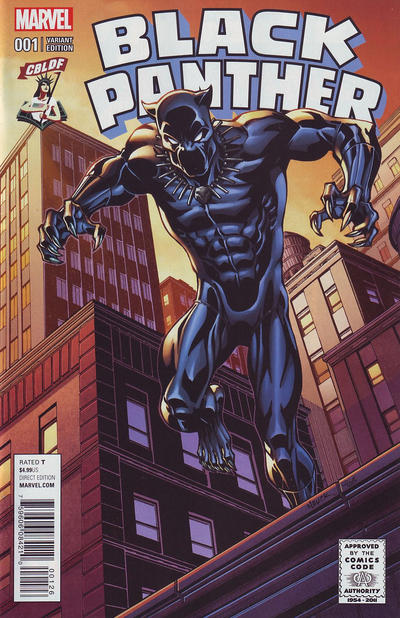 Cover for Black Panther (Marvel, 2016 series) #1