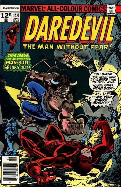 Cover for Daredevil (Marvel, 1964 series) #144 [Regular Edition]