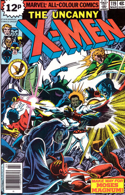 Cover for The X-Men (Marvel, 1963 series) #119 [Direct Edition]
