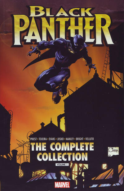 Cover for Black Panther by Christopher Priest: The Complete Collection (Marvel, 2015 series) #1