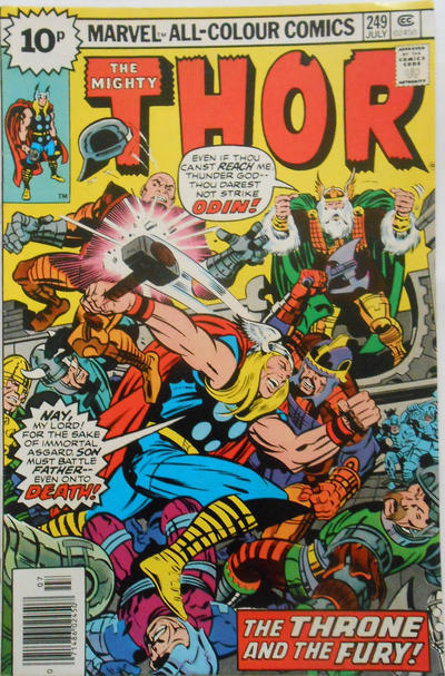 Cover for Thor (Marvel, 1966 series) #249 [Regular Edition]