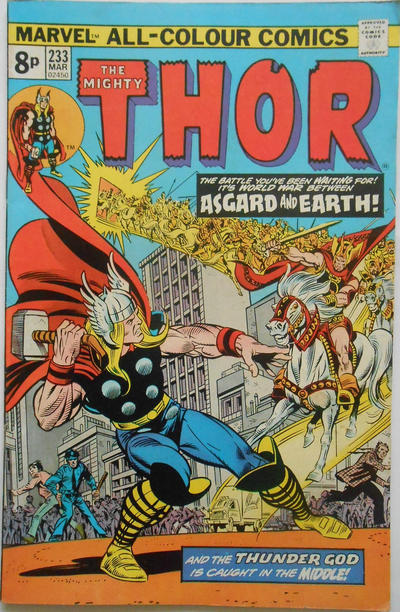 Cover for Thor (Marvel, 1966 series) #233 [Regular Edition]