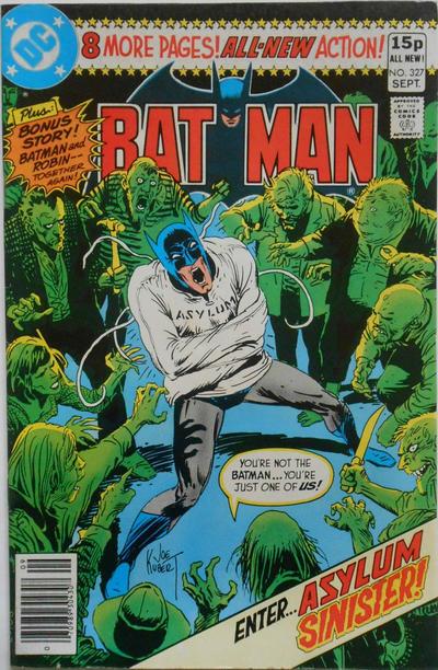 Cover for Batman (DC, 1940 series) #327