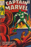Cover Thumbnail for Captain Marvel (1968 series) #12 [British Price Variant]
