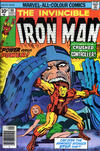 Cover for Iron Man (Marvel, 1968 series) #90 [British Price Variant]