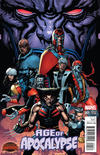 Cover for Age of Apocalypse (Marvel, 2015 series) #1 [Incentive Andy Clarke Promo Variant]