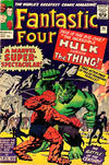 Cover for Fantastic Four (Marvel, 1961 series) #25 [British Price Variant]